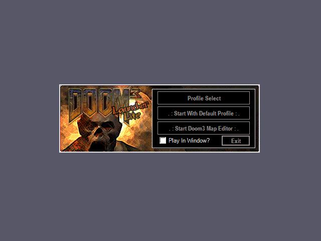 Doom 3 utilities