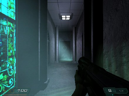 Screenshot from Phantasm for Doom 3