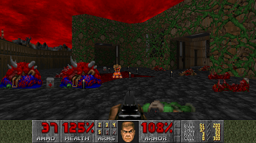 Screenpic from Certain Death Doom Wad
