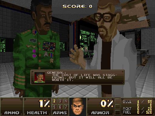 Action doom conversion for Doom2