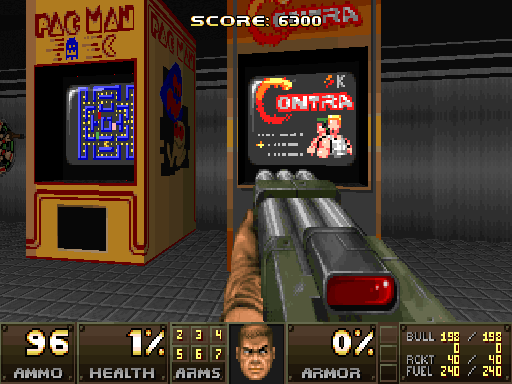 Action doom conversion for Doom2